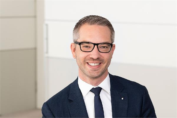Andreas Gipp, the new managing director of Eckart