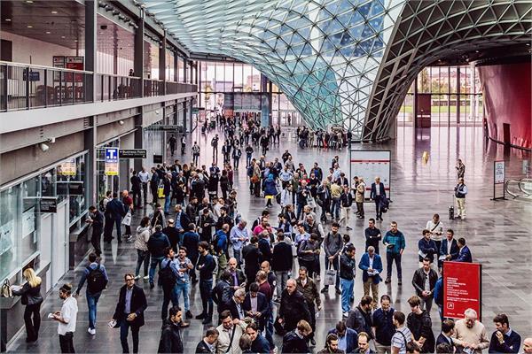 Trade fair in Milan
