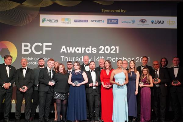 BCF Award ceremony