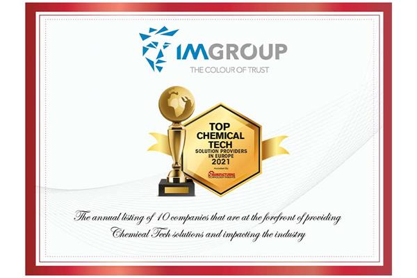 IM Group Top 10 Technology Supplier
